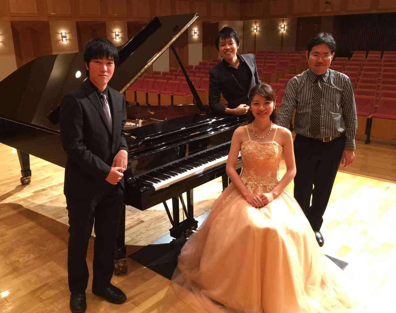 めいおんピアノ演奏家コース出張コンサート