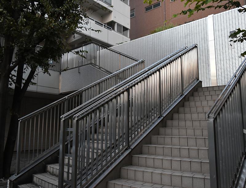 築地シティ住宅2F・テナントスペース東側奥