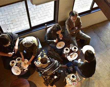 L PACK.×冨井大裕<br / >「たとえば、いつもより早く起きて港街でモーニングを食べてみるとする。」