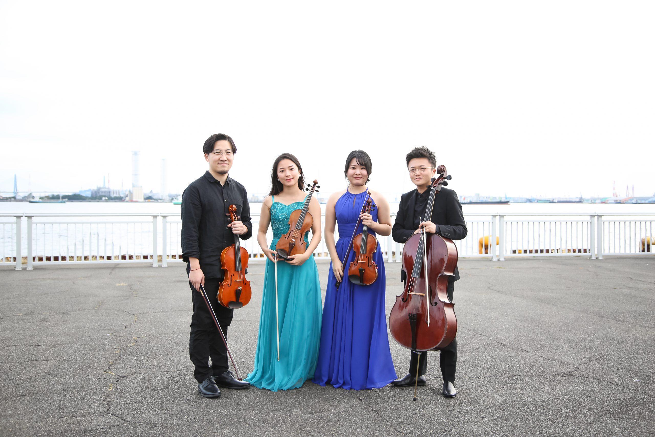 <公演中止>弦楽四重奏コンサート